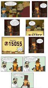 Professor Layton Meme - prof layton loves puzzles a bit too much professor layton know