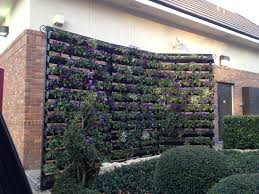 rain gutter planter wall cool idea to create functional privacy