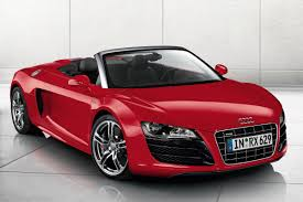 convertible audi red audi r8 spyder want want bad vrooom baby pinterest