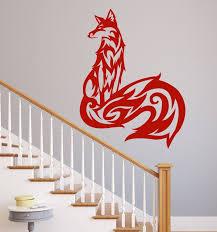 fox wall decal vinyl home decor customvinyldecor com