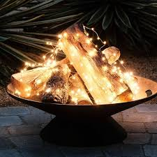 How To Lite A Fire Pit - the 25 best outdoor fairy lights ideas on pinterest fairy