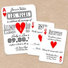 Marraige Invitation Cards Awesome Playing Card Wedding Invitations 13 For Your Hindu