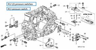 2009 honda civic transmission fluid a 110 b diy guide to replacing 3rd 4th gear pressure switch