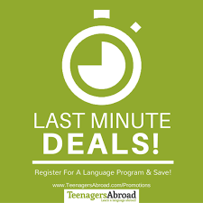 deals discounts and special offers for teenagers abroad programs