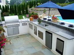 Outdoor Kitchen Ideas Kitchens Smart Outdoor Kitchen With Small Kitchen Counter And