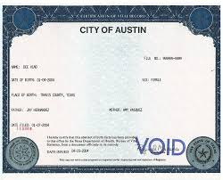 Birth certificates health and human services austintexas gov