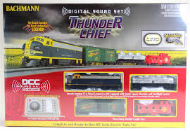 bachmann ho 00826 thunder chief set santa fe