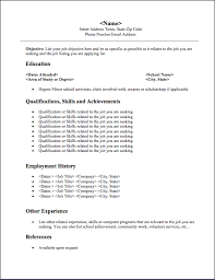 Example Of Resume For Student by Resume Sample For Recent Graduate
