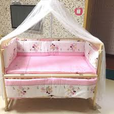 Baby Cot Bedding Sets Brand New Wooden Baby Cot Bed Free Bedding Set Free Mosquito Net