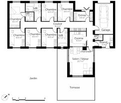 plan maison plain pied 6 chambres ooreka de newsindo co