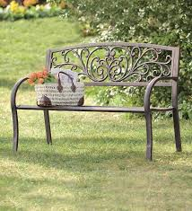 Garden Loveseat Iron Garden Bench Treenovation