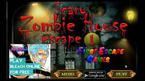 scary zombie house escape walk through firstescapegames youtube