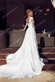 long sleeve backless wedding dress wedding ideas