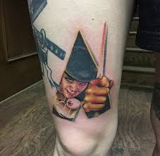 cap1 tattoos tattoos spiritual a clockwork orange tattoo