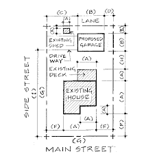 site plan site plan survey requirements for residential accessory building