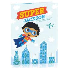 amazon hallmark personalized books super hero boy