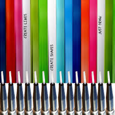stripy glamour u2013 mitty nail art tools u0026 brushes finger tips and