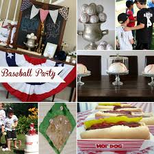 baseball birthday party for 8 year old boys birthday party