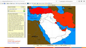 Middle East Country Map by Sheppard Software Geography Game Youtube