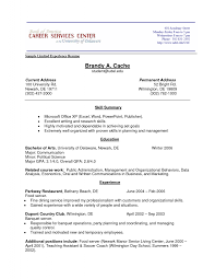 Resume Examples  first time resume template no work experience       resume examples