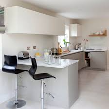 small kitchen breakfast bar ideas white modern breakfast bar kitchen beautiful kitchens housetohome