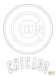 Chicago Cubs Coloring Pages chicago cubs coloring pages free coloring books