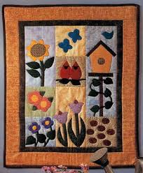 garden of delights quilted wall hanging pattern quilted wall