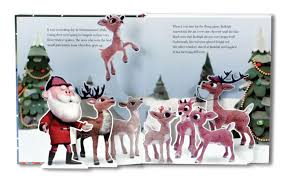 rudolph red nosed reindeer pop book silver dolphin