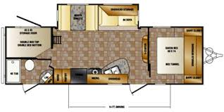 Crossroads Travel Trailer Floor Plans 2015 Crossroads Rv Z 1 Series M 272 Bh Specs And Standard