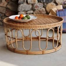 Rattan Side Table Rattan Coffee Tables Foter