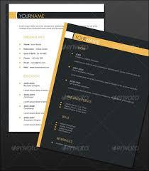 2 Page Resume Sample by 30 Amazing Resume Psd Template Showcase Streetsmash