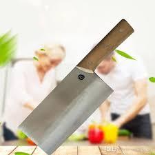 couteau de cuisine chinois acheter couteau de cuisine pur à la en acier à haute teneur en