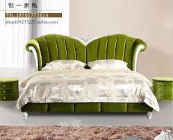 Princess Bedroom Furniture Neo Classical Post Modern Wood Bed Double Bed Princess Bedroom
