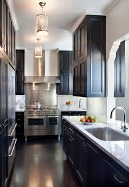Double Sided Kitchen Cabinets by Double Sided Fireplaces Family Room Traditional With None