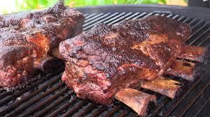 tasty beef plate short ribs on kamado joe youtube