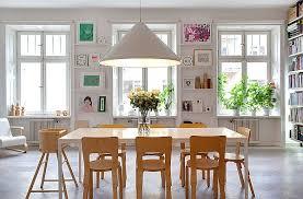 corner apartment with a bright interior décor