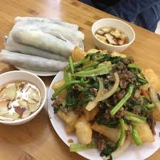 chien cuisine pho chien phong picture of pho cuon huong mai hanoi tripadvisor