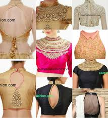 classy high neck blouse designs 10 trendy patterns high neck