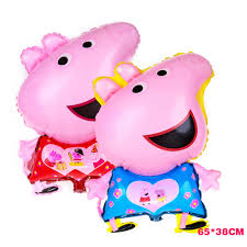 pig balloons buy peppa pig balloons and get free shipping on aliexpress