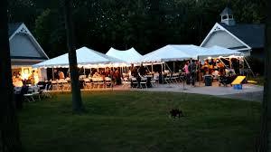 rent a wedding tent rent wedding tents in mid michigan valley tent rental