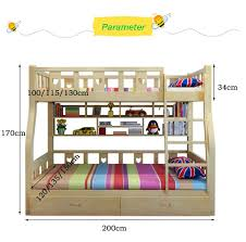 Cartoon Bunk Bed by Webetop Kids Beds For Boys And Girls Bedroom Furniture Castle Bunk