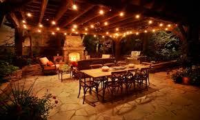 Patio String Lighting Ideas by Solar Deck Step Lights Costco Deks Decoration