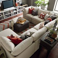 curved children leather sectional sofa which safe for your kids to