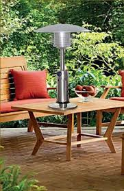Stainless Steel Patio Table Portable Table Top Stainless Steel Patio Heater Heaters Party Deck