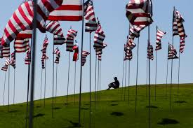 Automotive Flags Pepperdine 9 11waves Of Flags Display