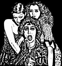 rocky horror picture show by ladyjart on deviantart