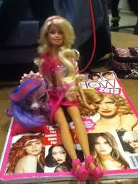 hairshow magazine 12 best barbie style hair images on pinterest barbie collection