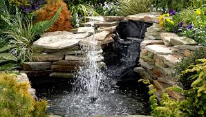 Backyard Ponds And Fountains How To Build A Pond Or Water Garden In Your Yard