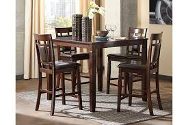 Bennox Counter Height Dining Room Table And Bar Stools Set Of - Ashley furniture dining room table