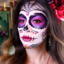sugar skull makeup tutorial dia de los muertos halloween